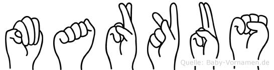 Markus in Fingersprache für Gehörlose