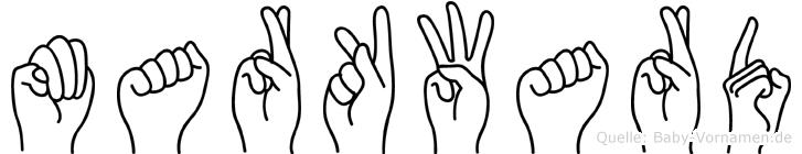 Markward in Fingersprache für Gehörlose