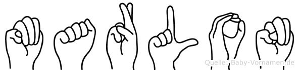 Marlon in Fingersprache für Gehörlose