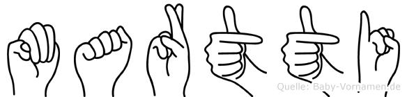 Martti in Fingersprache für Gehörlose
