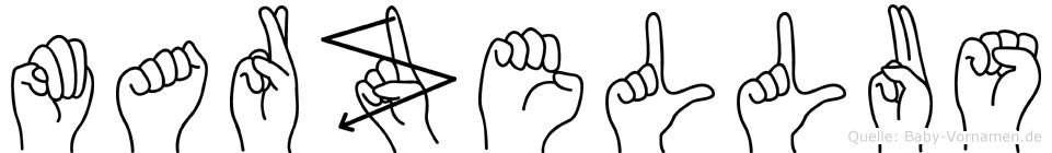 Marzellus in Fingersprache für Gehörlose
