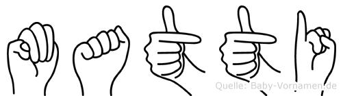 Matti in Fingersprache für Gehörlose