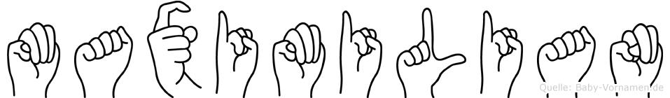 Maximilian in Fingersprache für Gehörlose