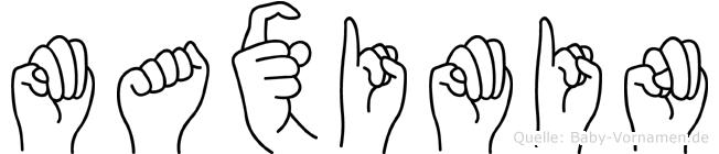 Maximin in Fingersprache für Gehörlose