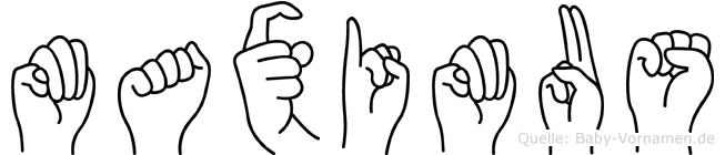 Maximus in Fingersprache für Gehörlose