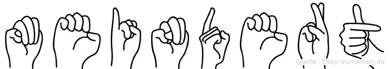Meindert in Fingersprache für Gehörlose