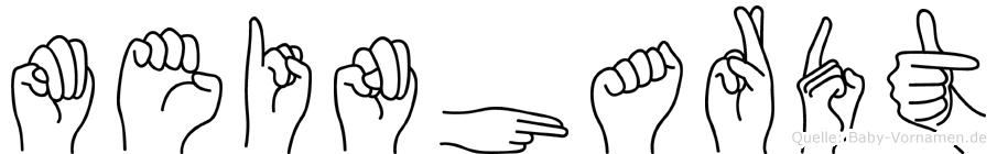 Meinhardt in Fingersprache für Gehörlose