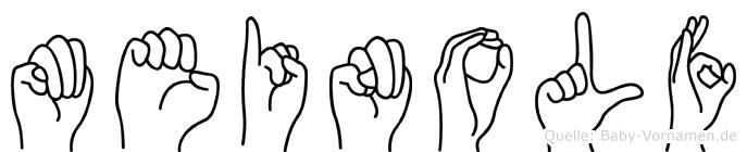 Meinolf in Fingersprache für Gehörlose