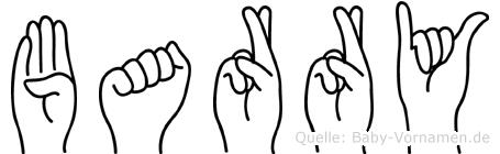 Barry in Fingersprache für Gehörlose