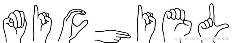Michiel in Fingersprache für Gehörlose