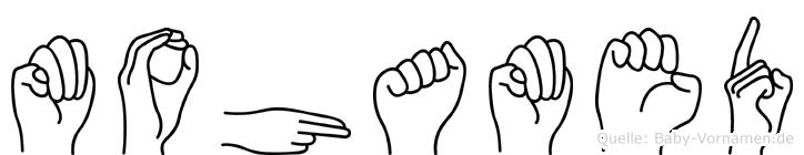 Mohamed in Fingersprache für Gehörlose