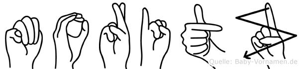 Moritz in Fingersprache für Gehörlose