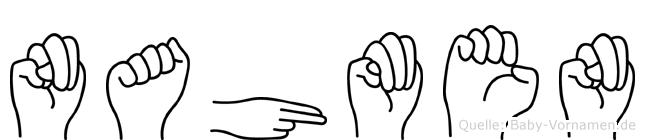 Nahmen im Fingeralphabet der Deutschen Gebärdensprache