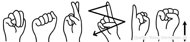 Narziß in Fingersprache für Gehörlose