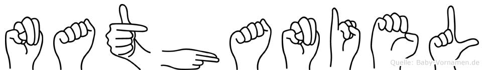 Nathaniel in Fingersprache für Gehörlose