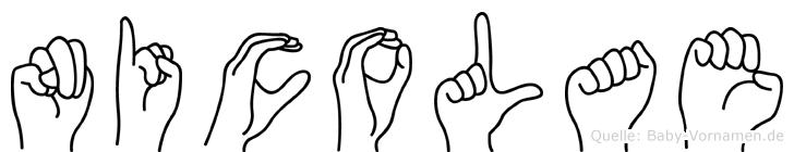 Nicolae in Fingersprache für Gehörlose