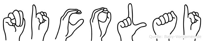 Nicolai in Fingersprache für Gehörlose