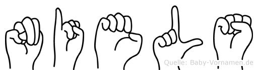 Niels in Fingersprache für Gehörlose