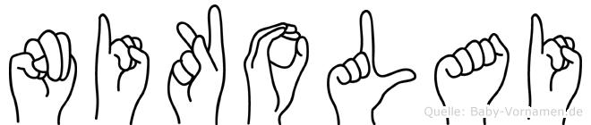 Nikolai in Fingersprache für Gehörlose