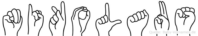 Nikolaus in Fingersprache für Gehörlose