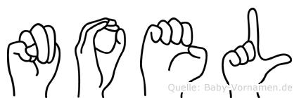 Noel in Fingersprache für Gehörlose