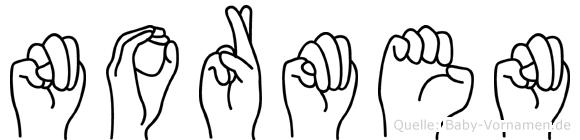 Normen in Fingersprache für Gehörlose