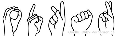 Odkar in Fingersprache für Gehörlose