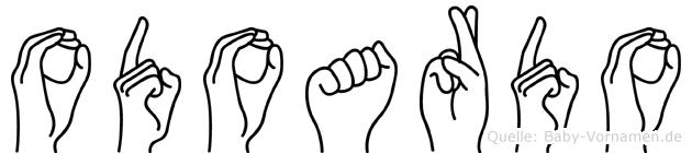 Odoardo in Fingersprache für Gehörlose