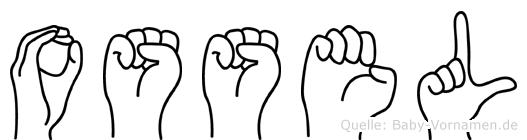 Ossel in Fingersprache für Gehörlose