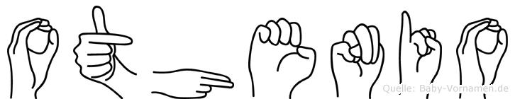 Othenio im Fingeralphabet der Deutschen Gebärdensprache