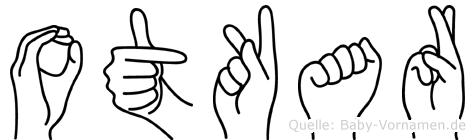 Otkar in Fingersprache für Gehörlose