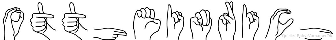 Ottheinrich in Fingersprache für Gehörlose