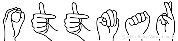 Ottmar im Fingeralphabet der Deutschen Gebärdensprache