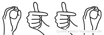 Otto in Fingersprache für Gehörlose