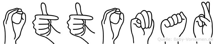 Ottomar im Fingeralphabet der Deutschen Gebärdensprache