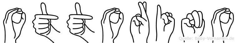 Ottorino im Fingeralphabet der Deutschen Gebärdensprache