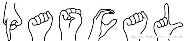 Pascal in Fingersprache für Gehörlose