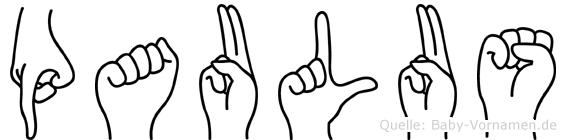 Paulus in Fingersprache für Gehörlose