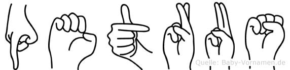 Petrus in Fingersprache für Gehörlose