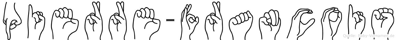 Pierre-Francois im Fingeralphabet der Deutschen Gebärdensprache