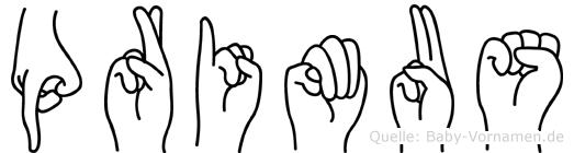 Primus in Fingersprache für Gehörlose