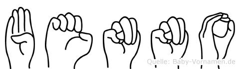Benno in Fingersprache für Gehörlose