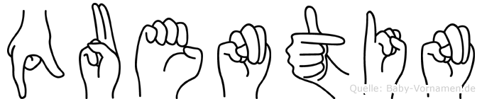 Quentin in Fingersprache für Gehörlose