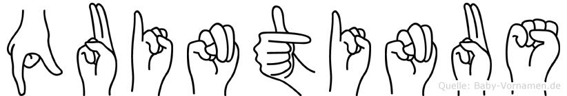 Quintinus in Fingersprache für Gehörlose