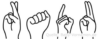 Radu in Fingersprache für Gehörlose