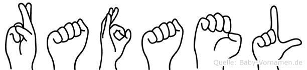Rafael in Fingersprache für Gehörlose