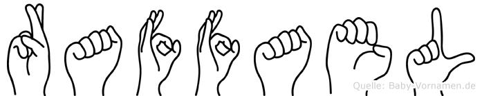 Raffael in Fingersprache für Gehörlose