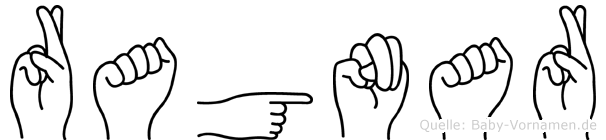Ragnar in Fingersprache für Gehörlose