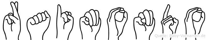 Raimondo in Fingersprache für Gehörlose