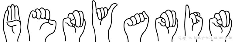 Benyamin in Fingersprache für Gehörlose